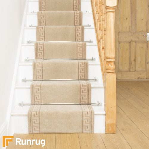 Brink & Campman 80/20 Wool Stair Runner - Hellas Cream 10804