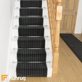 Brink & Campman 80/20 Wool Stair Runner - Steps Grey 12105