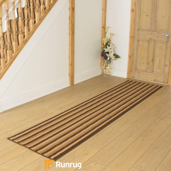 Broad 11 Brown & Beige Hall Runner