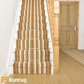 Broad 9 Beige & Cream Stair Runner