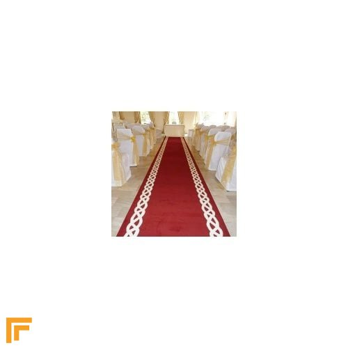 Rope - Red Wedding Aisle Carpet Runner
