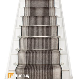Capitol Graphite Stair Runner