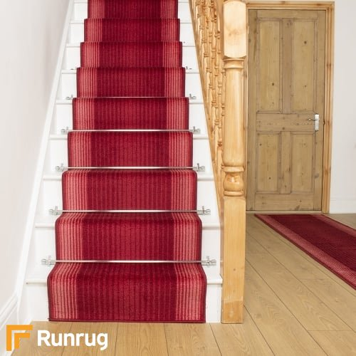 Capitol Red Stair Runner