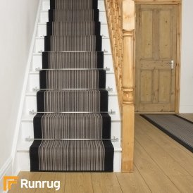 Carnaby Graphite Stair Runner