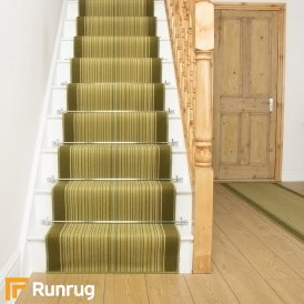 Carnaby Green Stair Runner