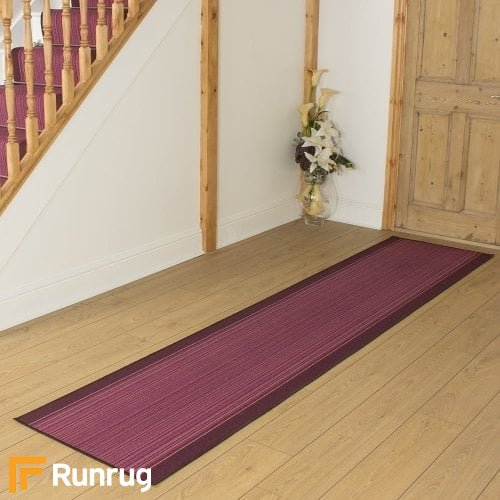 Carnaby Purple Hall Runner