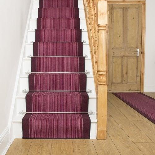 Carnaby - Purple Stair Carpet Runner