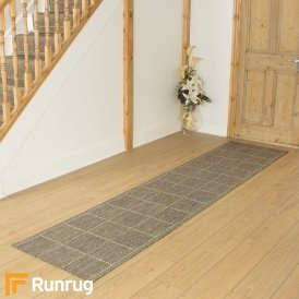 Check Tweed Hall Runner