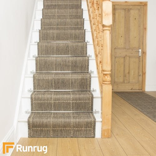 Check Tweed Stair Runner