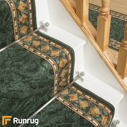 Cheops Green Stair Runner