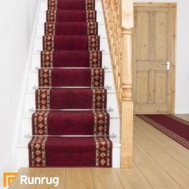 Cheops Red Stair Runner