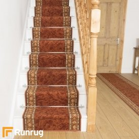Cheops Terracotta Stair Runner