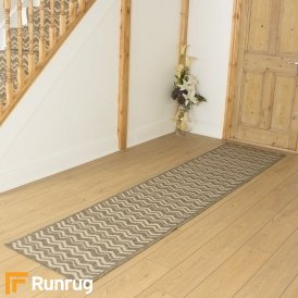 Chevron Tweed Hall Runner