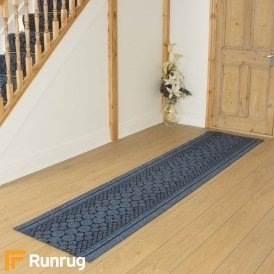 Cork Blue Hall Runner