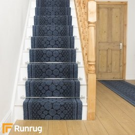 Cork Blue Stair Runner