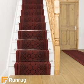 Cork Red Stair Runner