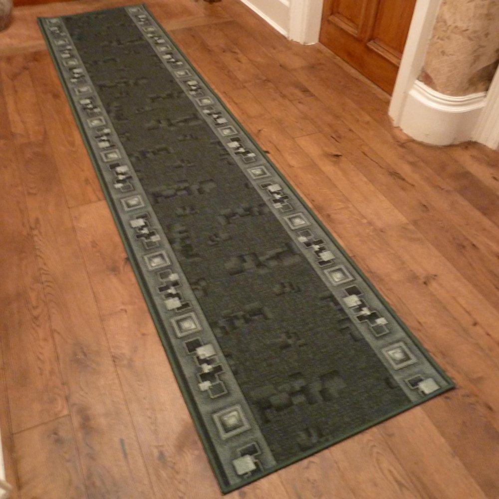 Green Hall Runner Rug Corona Carpet Runners Uk