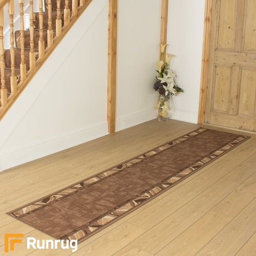 Corrido Dark Brown Hall Runner