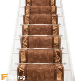 Corrido Dark Brown Stair Runner