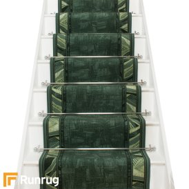 Corrido Green Stair Runner