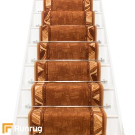 Corrido Tan Brown Stair Runner