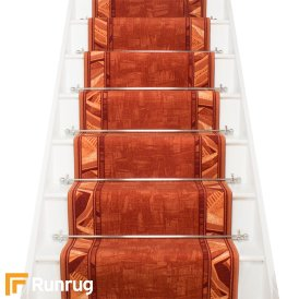 Corrido Terracotta Stair Runner