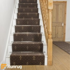 Crest Brown Stair Runner