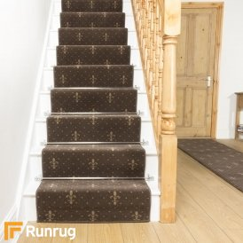 Crest Choco Taupe Stair Runner