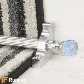 Crystal Brushed Chrome Sky Reeded