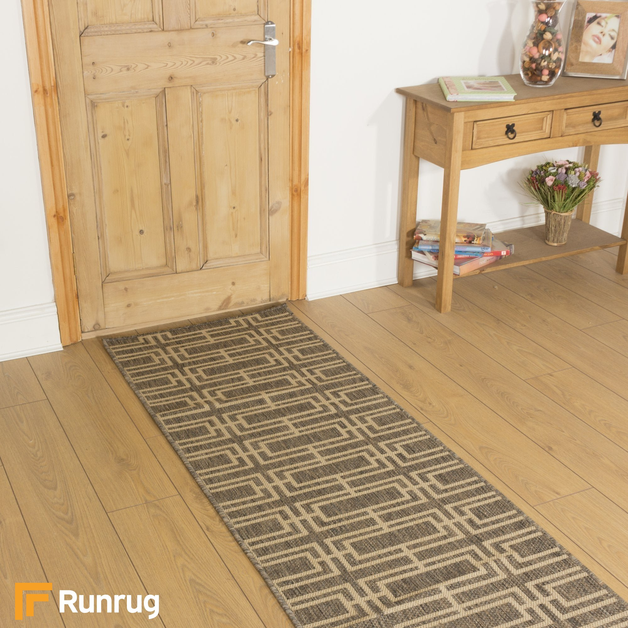 Deco Tweed Runner