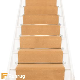 Dotty Beige Stair Runner