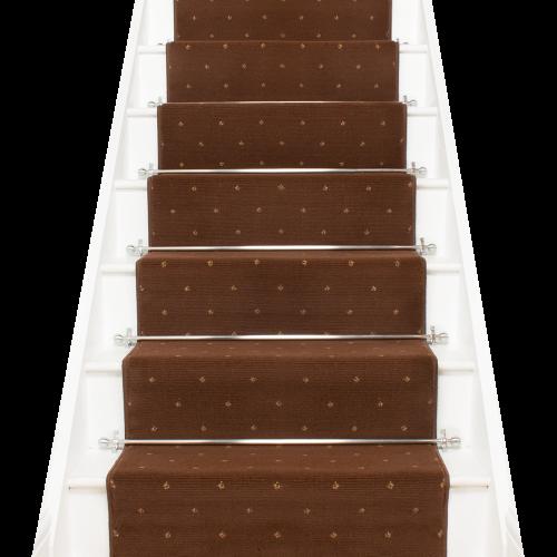 Dotty - Brown Stair Carpet Runner