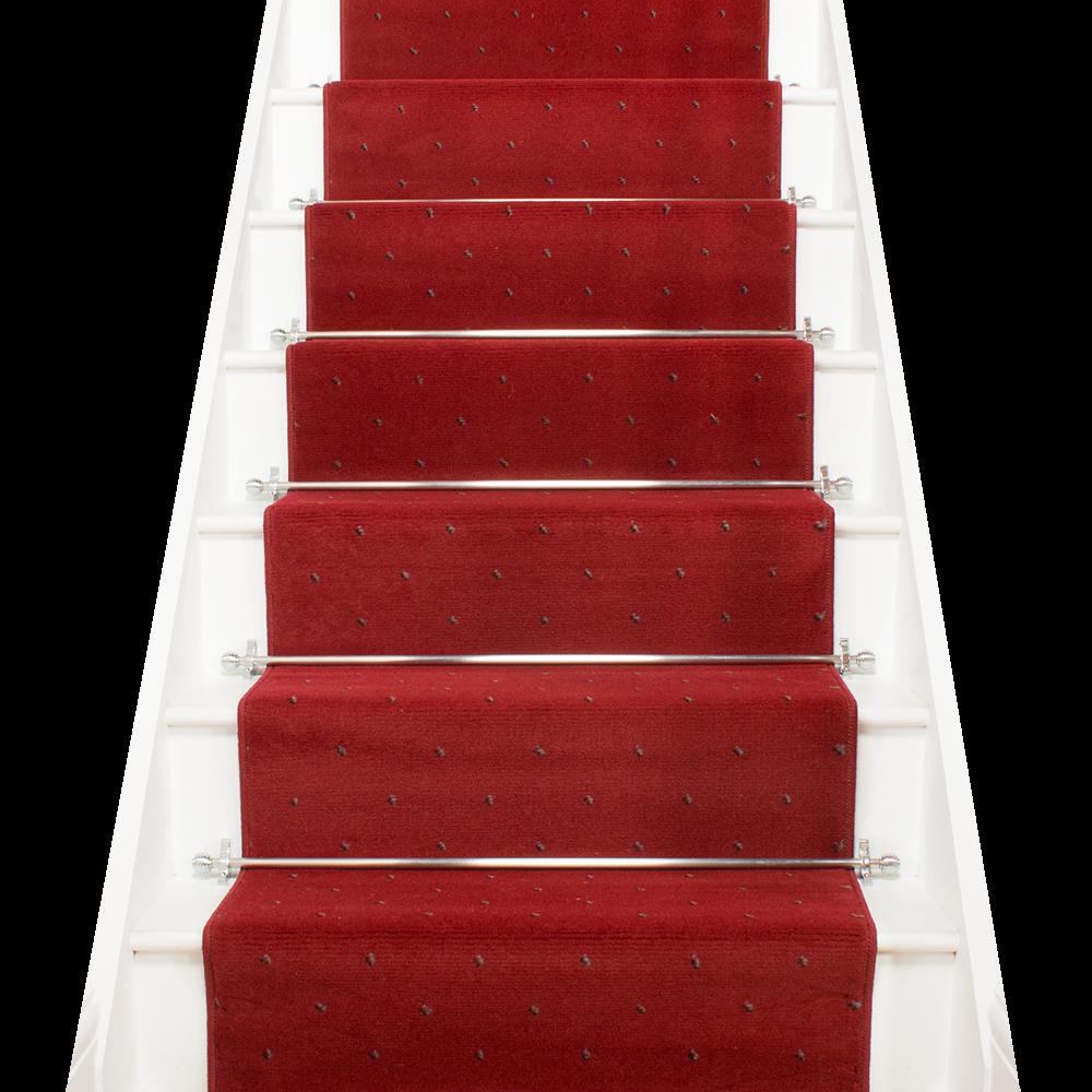 red stair runner dotty carpet runners uk