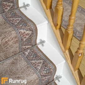 Eiger Brown Stair Runner