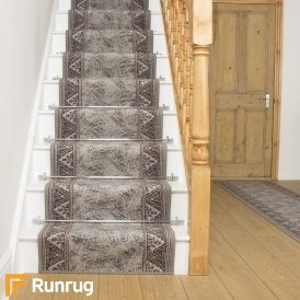 Eiger Grey Stair Runner