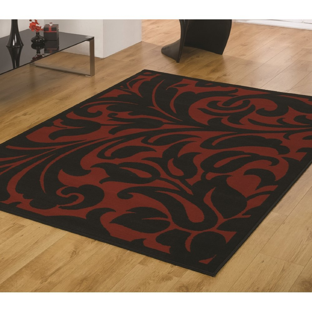 Element Warwick Red Black Rug Only Available At Carpet