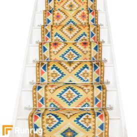 Ethnic Sand Stair Runner