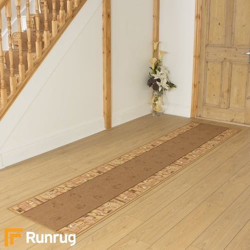 Feria Beige Hall Runner