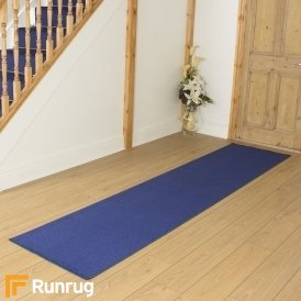 Festival Blue Plain Hall Runner