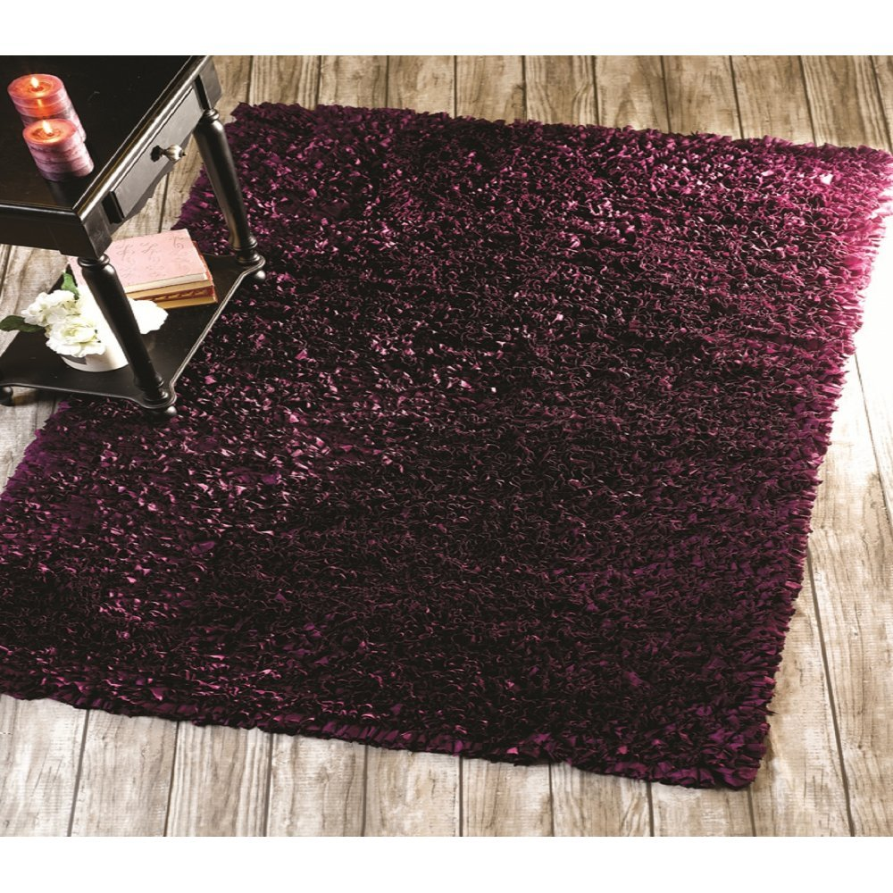 Purple Rug: Purple Flamenco Rug