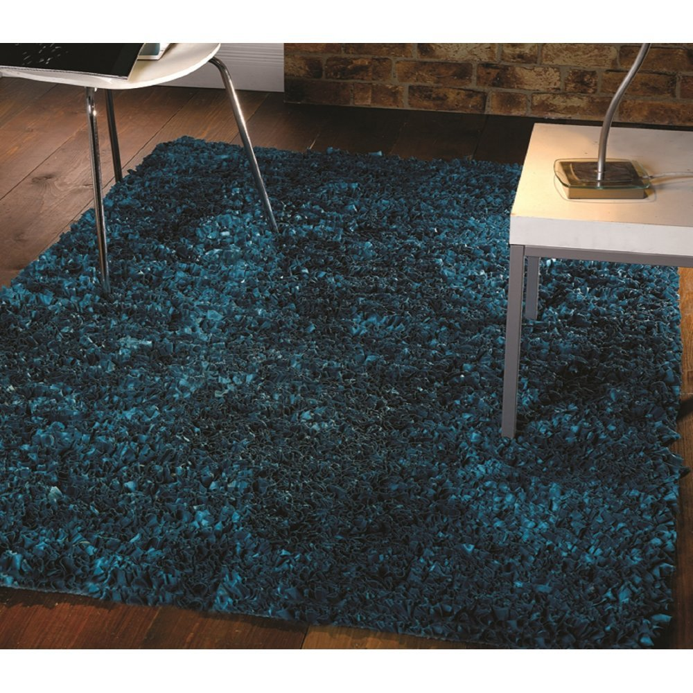 Flamenco Teal Rug Only Available At Carpet Runners UK