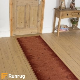 Gabbeh Rust Hall Runner