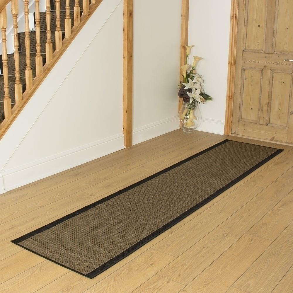 Black hallway carpet runner gingham - Black carpet runners for hall ...