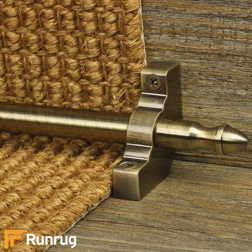 Homepride Antique Finish Stair Carpet Runner Rods