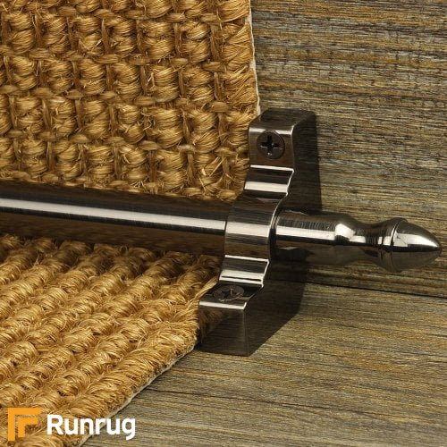 Homepride Pewter Finish Stair Carpet Runner Rods