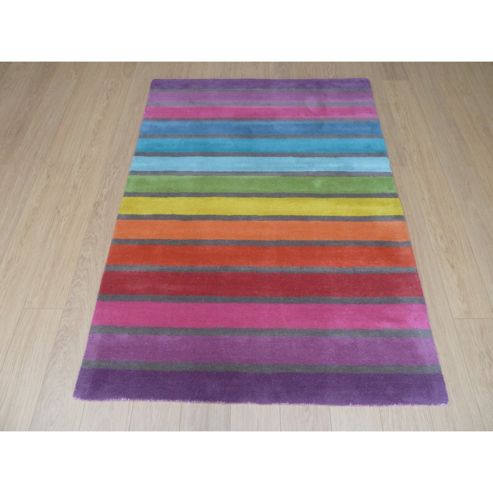 Illusion Candy Multi Rug Only Available At Carpet Runners Uk