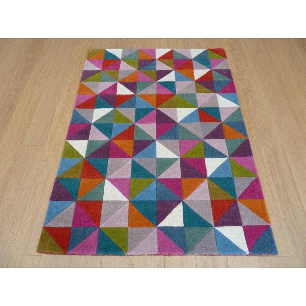 Illusion Geometry Multi Rug Only Available At Carpet