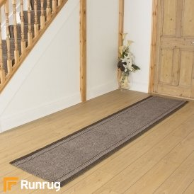 Inca Brown Hall Runner