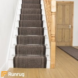 Inca Brown Stair Runner