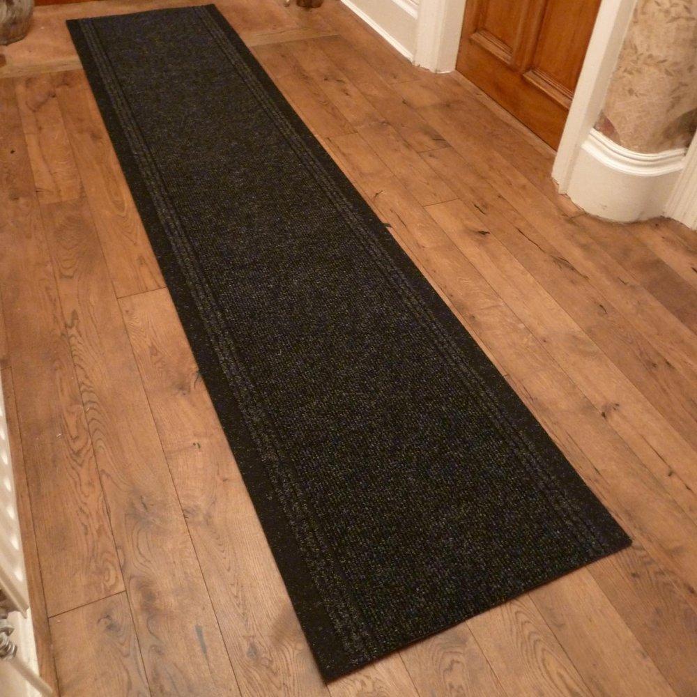 Graphite hall runner rug inca carpet runners uk - Black carpet runners for hall ...
